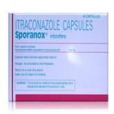 スポラノックス100mg 4錠