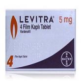レビトラ5mg(LEVITRA) 4錠