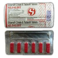 シルダリスト120mg(バイアグラ+シアリスジェネリック) 6錠
