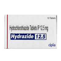 ヒドロクロロチアジドジェネリック12.5mg 100錠