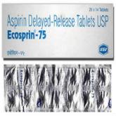 エコスピリン75mg(アスピリンジェネリック) 98錠